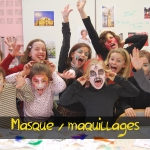 Masques - maquillages
