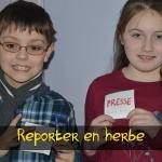 Reporter en herbe